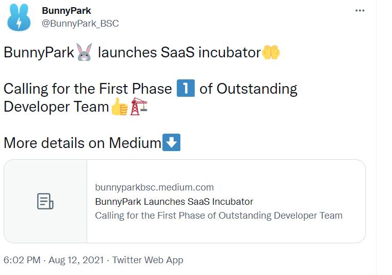 BunnyPark SaaS孵化器首个星战游戏正式上线,引爆